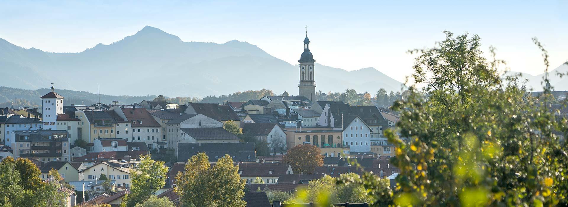 Chiemgau Immobilien Startseite Header Traunstein